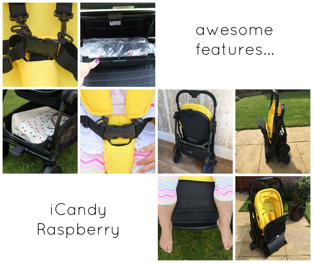 Our iCandy Raspberry family fun adventures