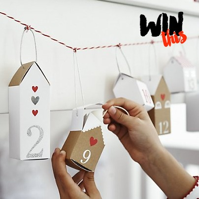 The White Company Little House Advent Calendar Giveaway Win Prize Competition #littleloves
