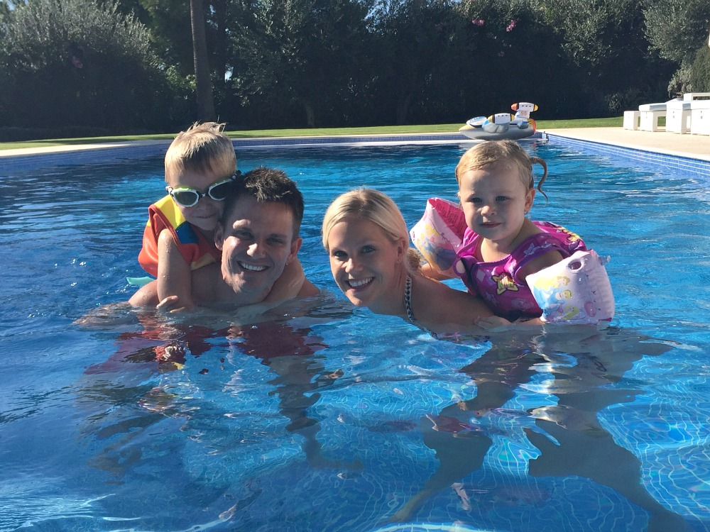 A weekend family getaway to Spain