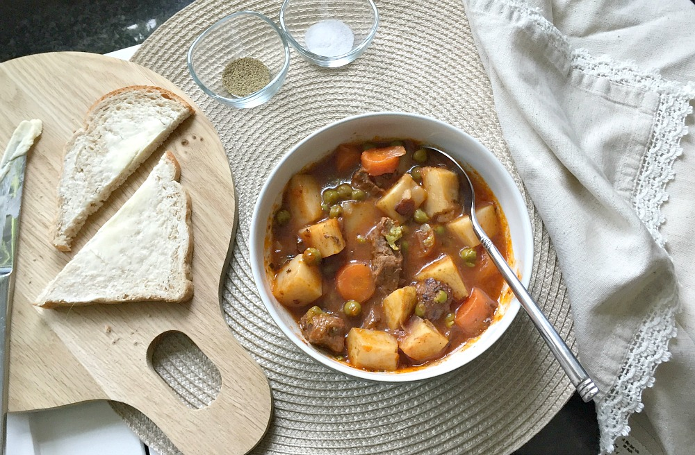 Vegetable Beef Stew in Tefal Cook4Me