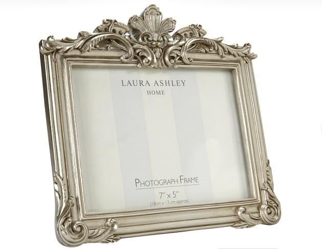 WIN a 7X5 Laura Ashley gold photo frame