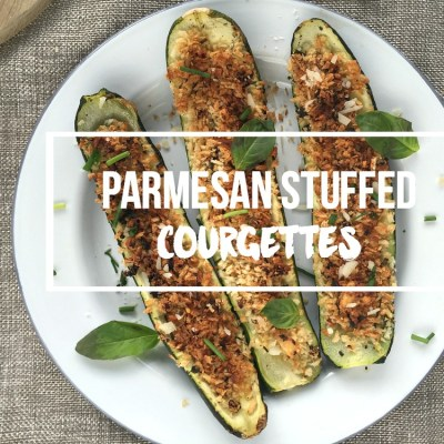 Parmesan Stuffed Courgettes Recipe