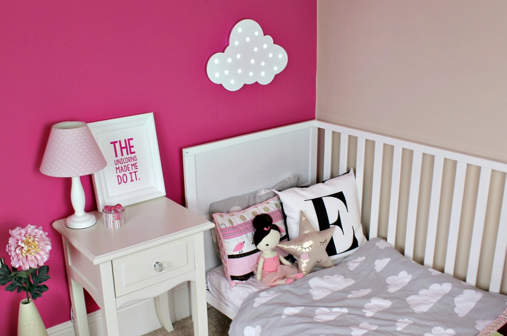 Silentnight Room for a little one mini makeover