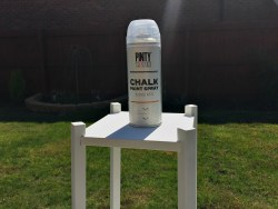 styling the seasons april with chalk paint spray