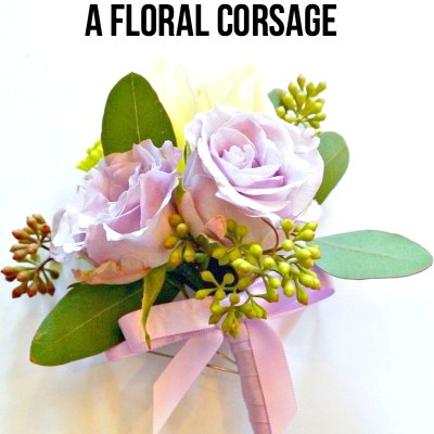 How to make a Floral Corsage in a few easy steps