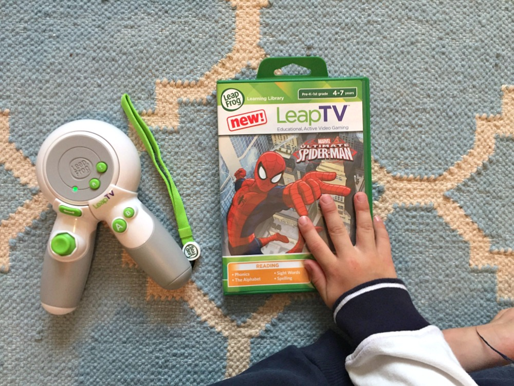 LeapFrog LeapTV Spiderman Educational toys and games for kids review