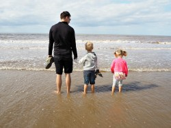 How to have a great unplanned family day out formby beach