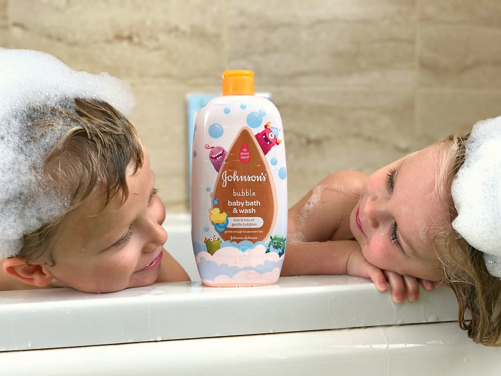 Make bathttime an adventure for your little monsters #ad