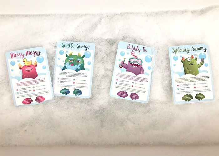 Make Bathtime an Adventure for your Little Monsters #ad