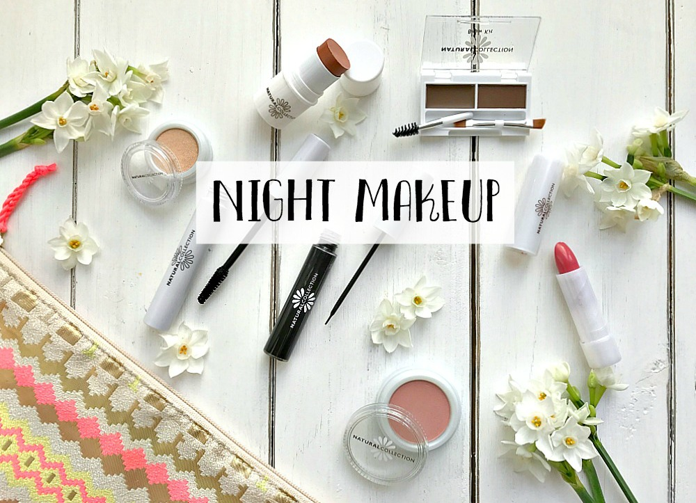 My Easy Day to Night Makeup Look for the festive season with Boots Natural Collection £1.99 each