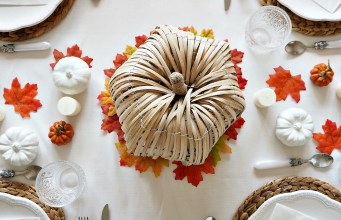 "Thanksgiving ""Autumn"" Tablescape"