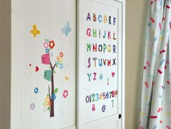 A Wardrobe Makeover with Pixerstick Wall Decals