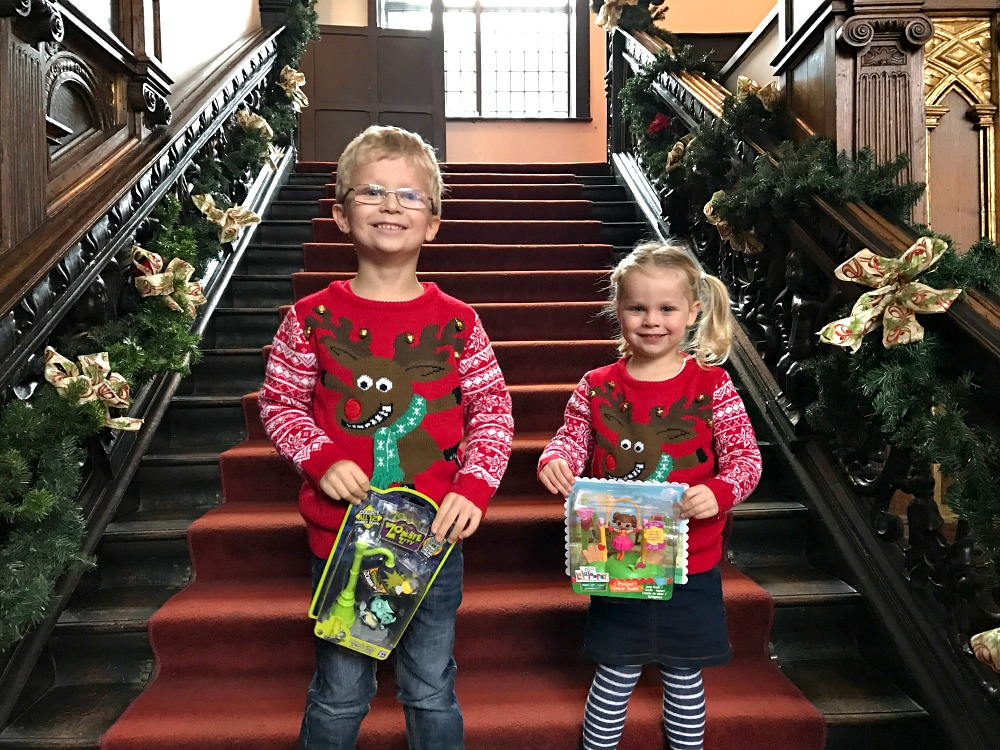 Siblings Seeing Santa December 2016 the siblings project