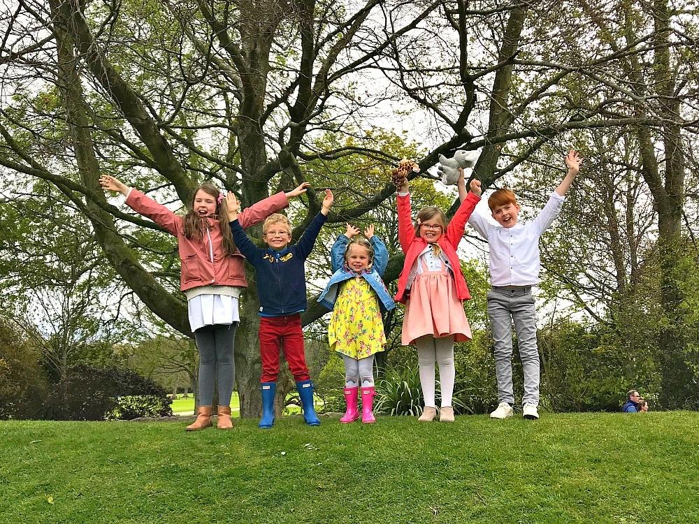 Malahide Castle Ireland Dublin picnic with friends