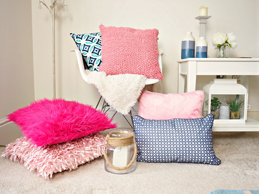 Think Pink with Dutch Decor Cushions