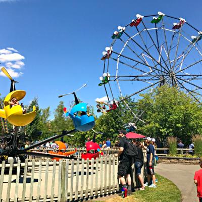 Silverwood Theme Park & Boulder Beach