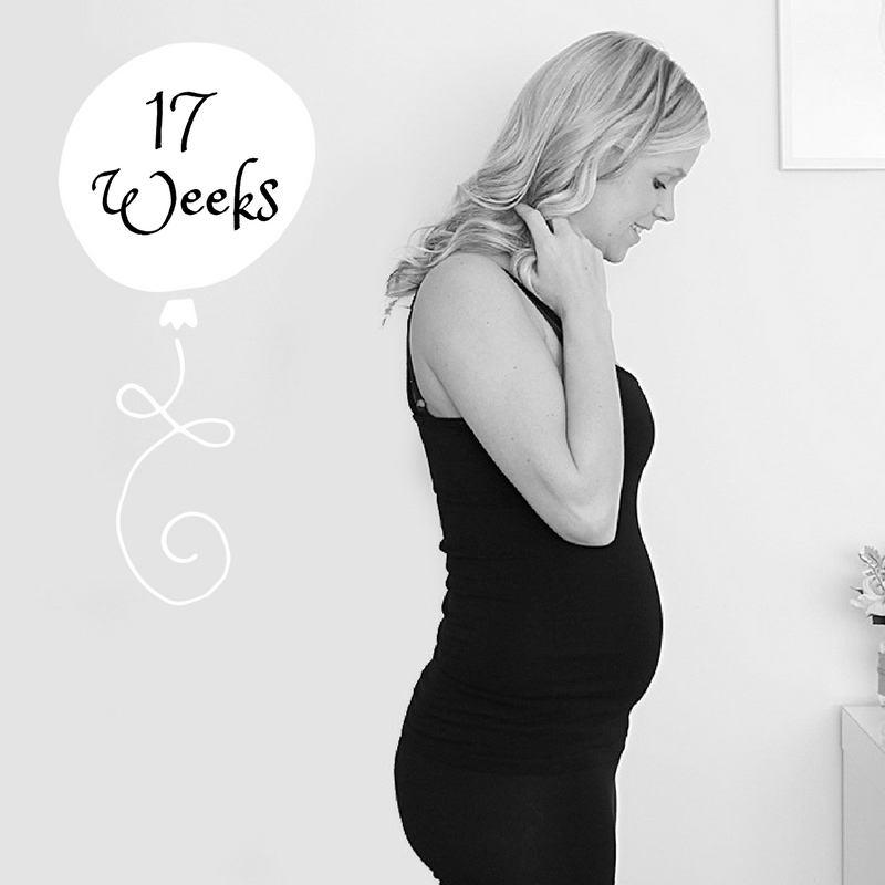 pregnancy 17 weeks bump watch pregnant