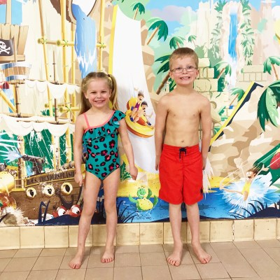 Family Day Out at the Waterpark