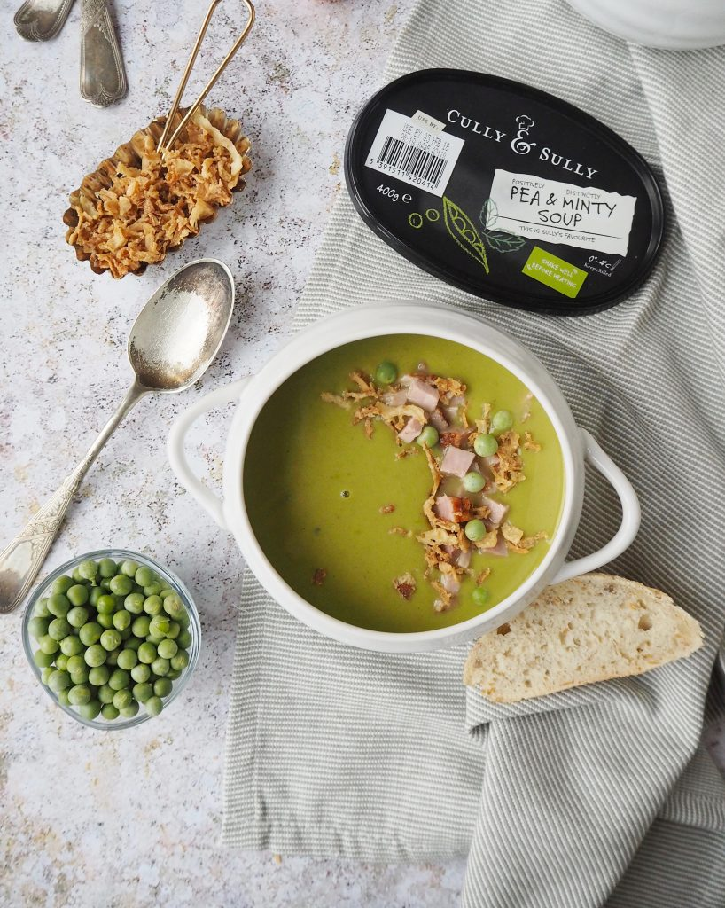 Pea & Ham Soup #TheWayWeMakeIt Cully and Sully Soups recipes