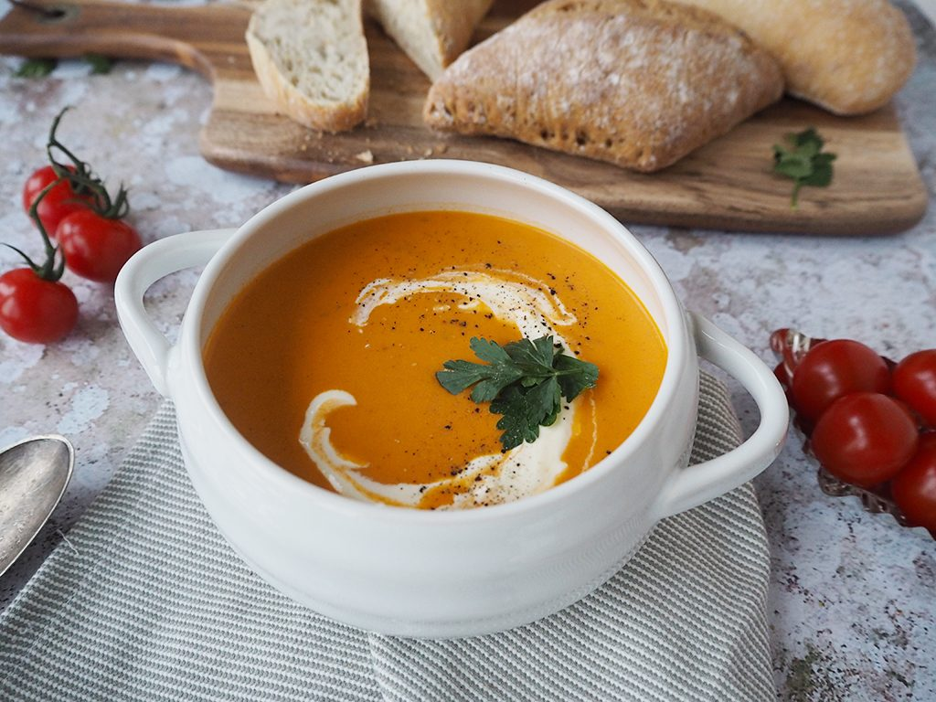 tomato and basil soup #TheWayWeMakeIt Cully and Sully Soups recipes