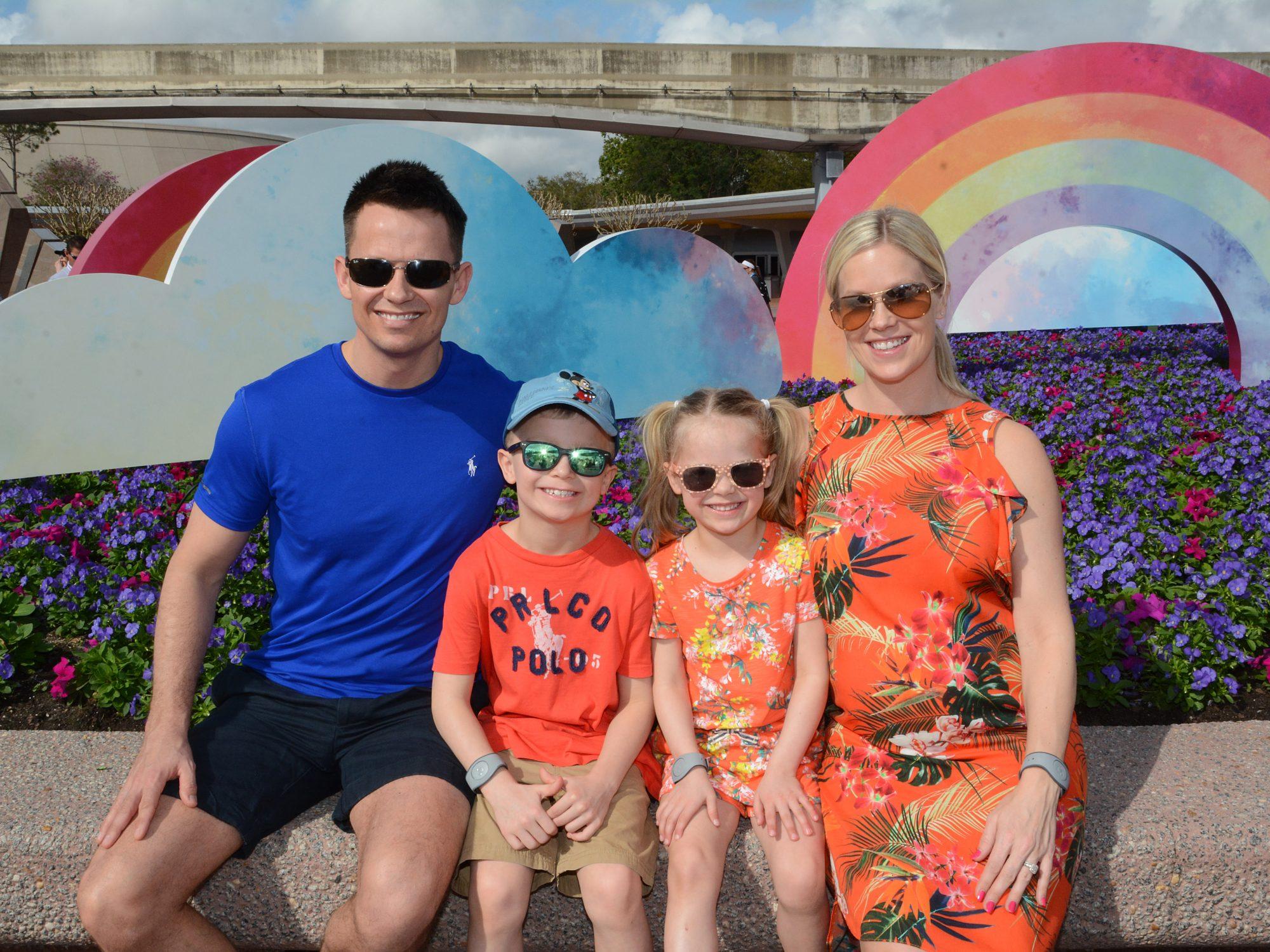 Walt Disney World Florida Epcot Photo Memory Package