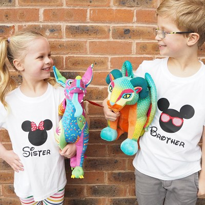February Siblings Project + Disney Giveaway