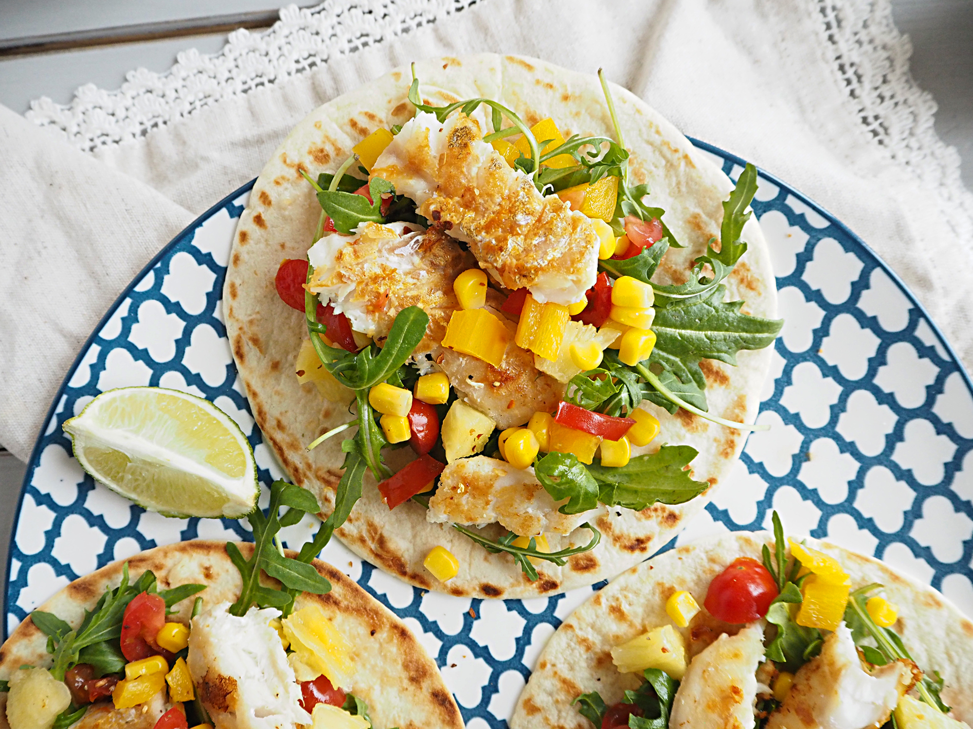 Fish Tacos with Pineapple Salsa family recipes main dish