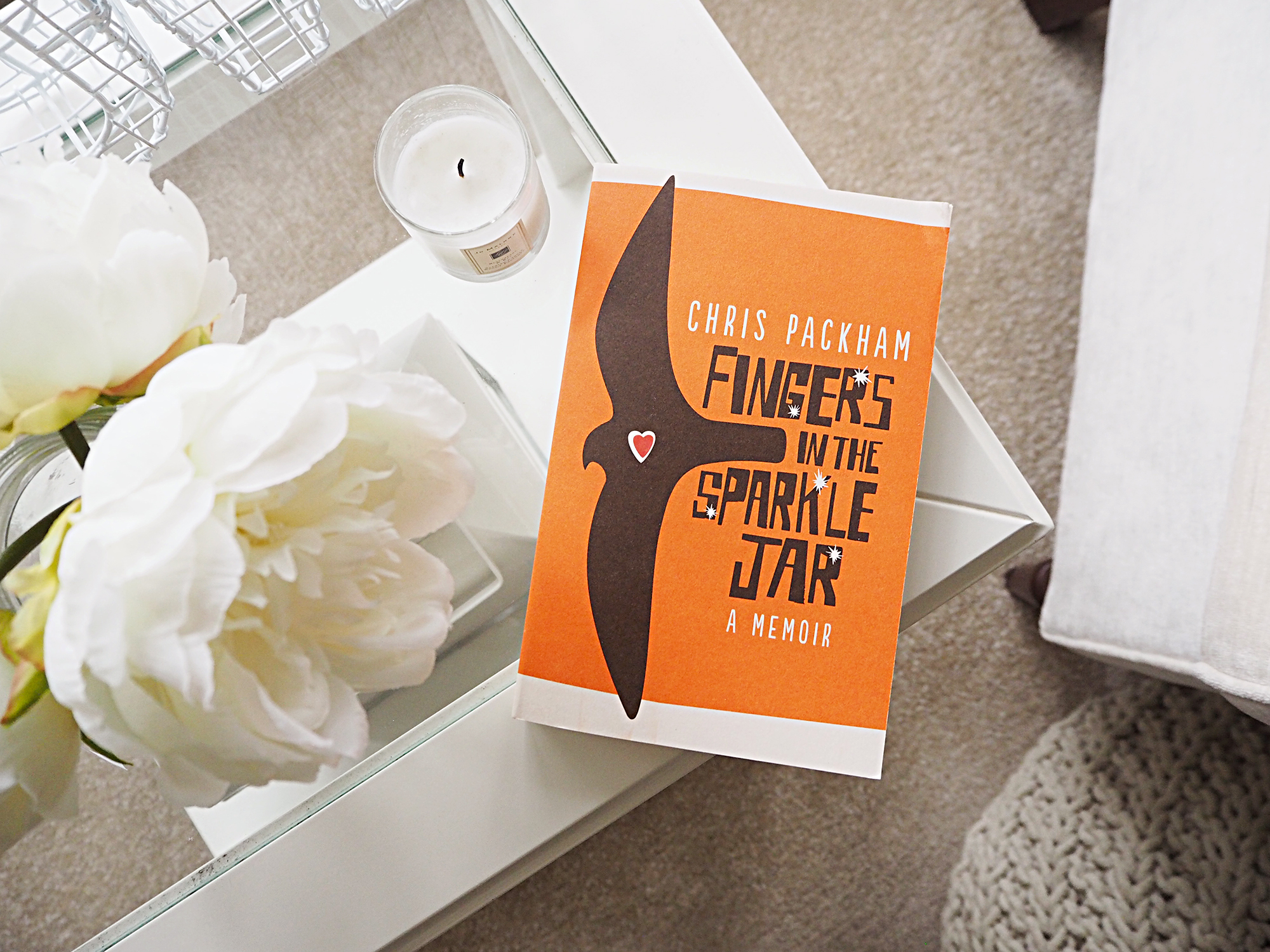 april's book club bookish mamas book Fingers in the Sparkle Jar by chris packham