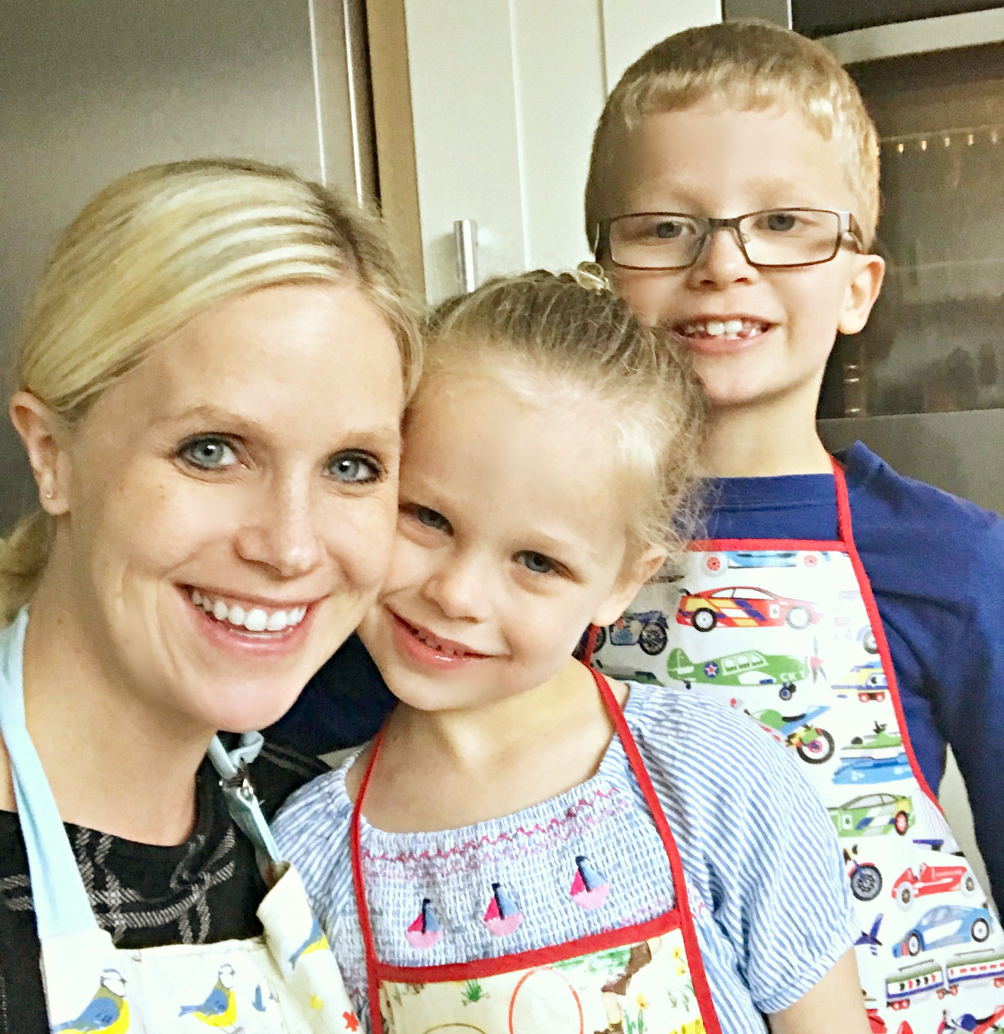 routines and baking with my kids