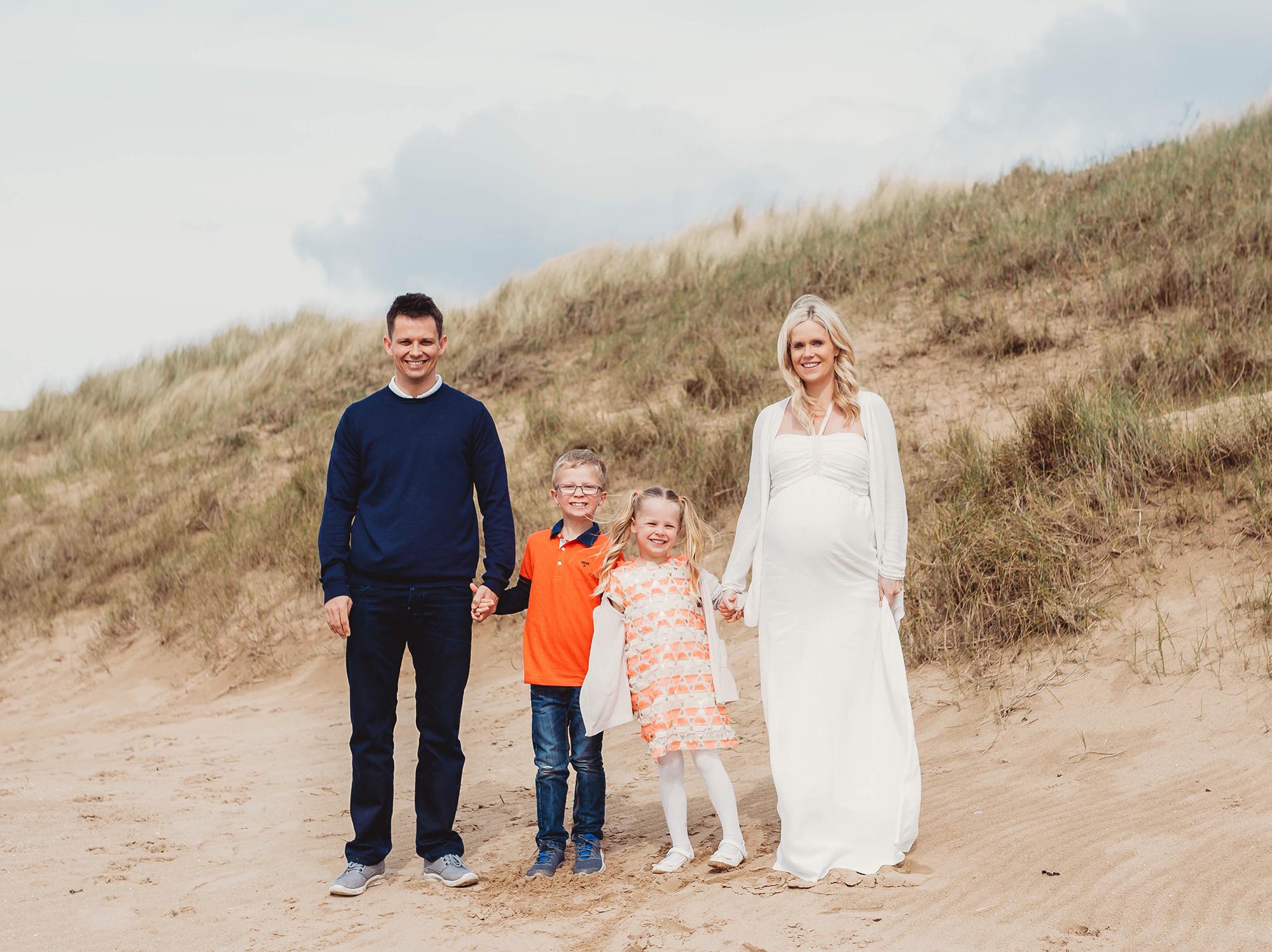 family photoshoot on the beach family photos me & mine april