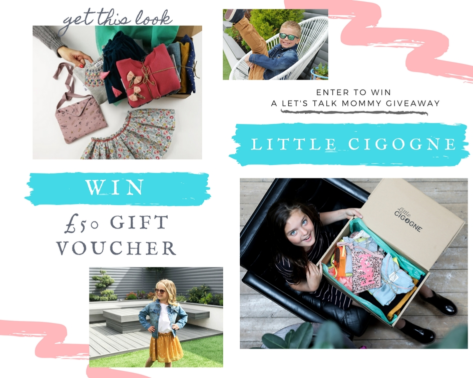 Win competition prize £50 Gift Voucher for Little cigogne enter here
