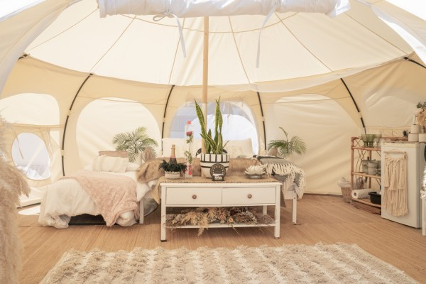 Camping tips for beginners Family Glamping