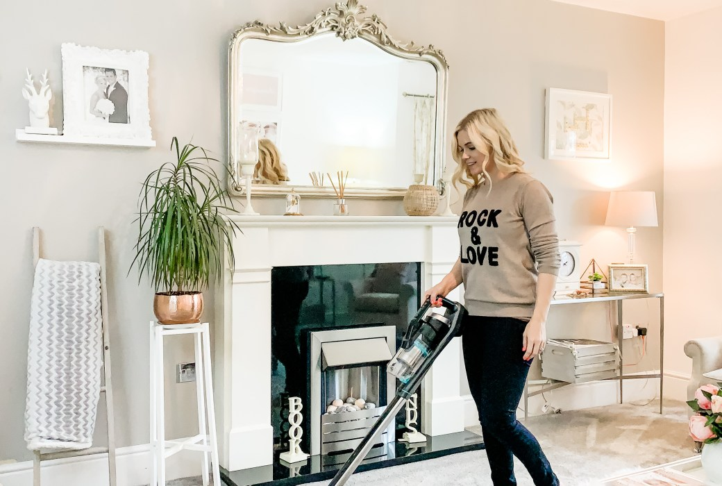 Keeping on top of my son's allergies with the ICON 25V Cordless Vacuum