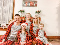 matching christmas pjs family phs