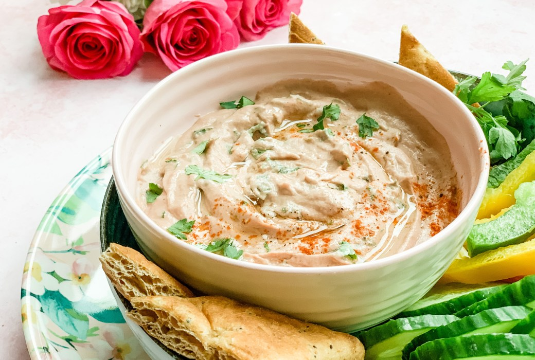Valentine's Day Baba Ganoush