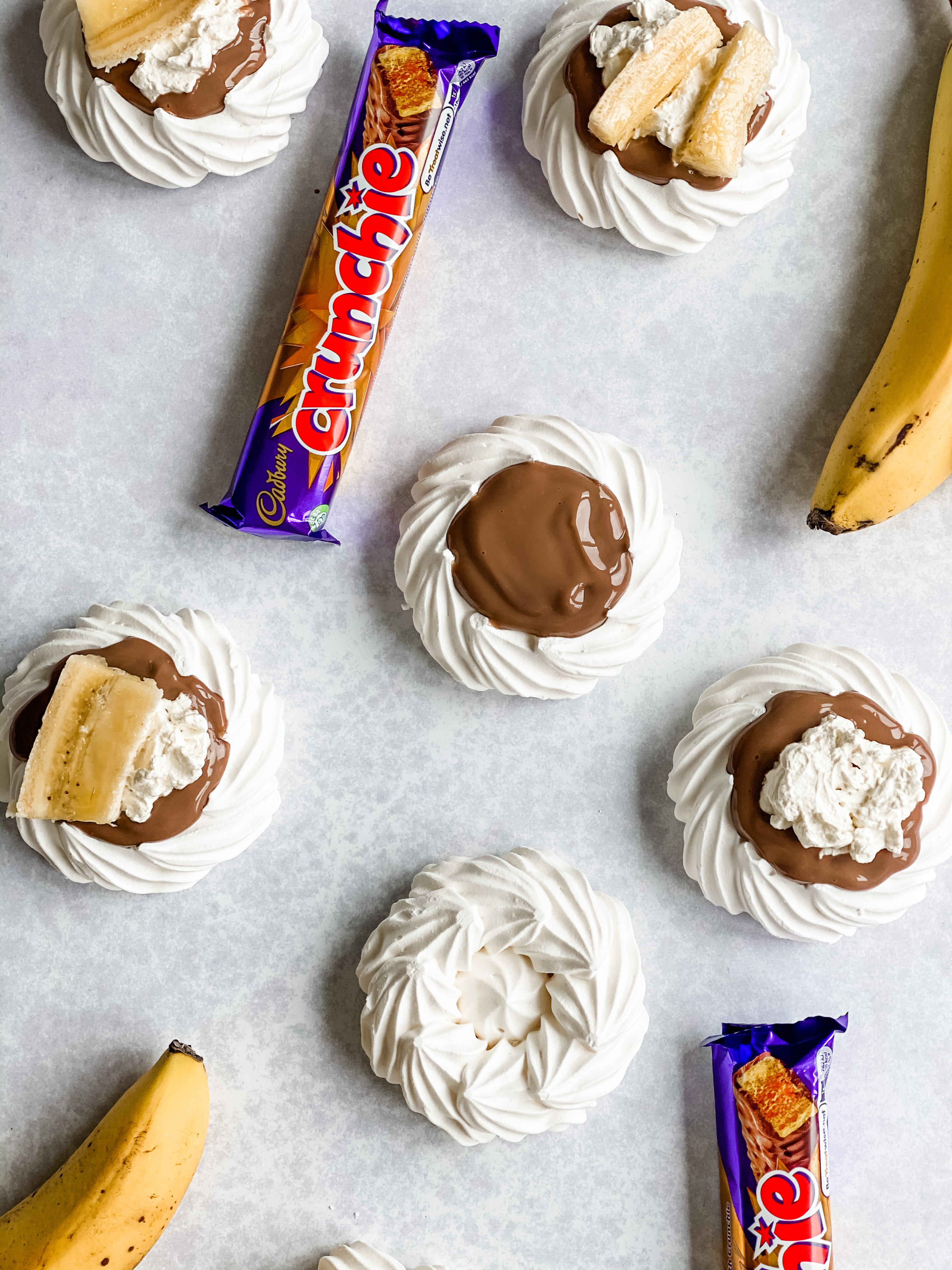 crunchie bar recipe with meringue nest