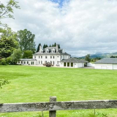 Staying at Wards Estate in Loch Lomond, Scotland
