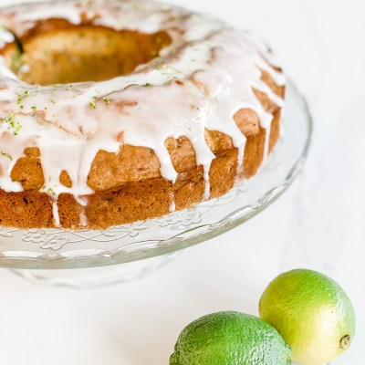Lime, Avocado, and Courgette Cake for a Healthier Birthday Cake