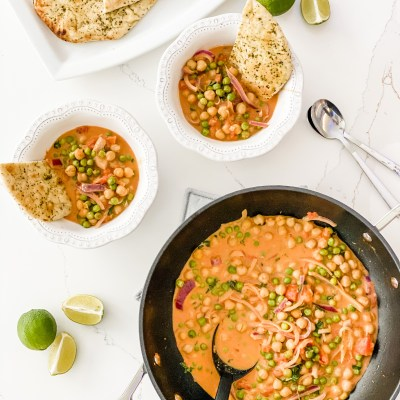 Vegan Chickpea Coconut Curry Recipe