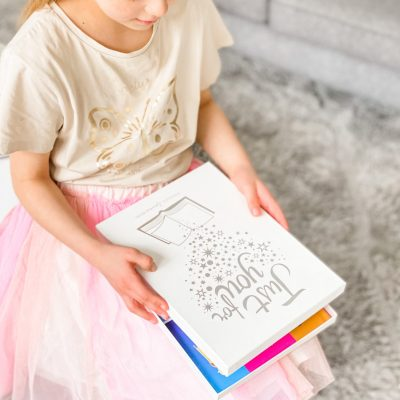 personalised children's books in the books