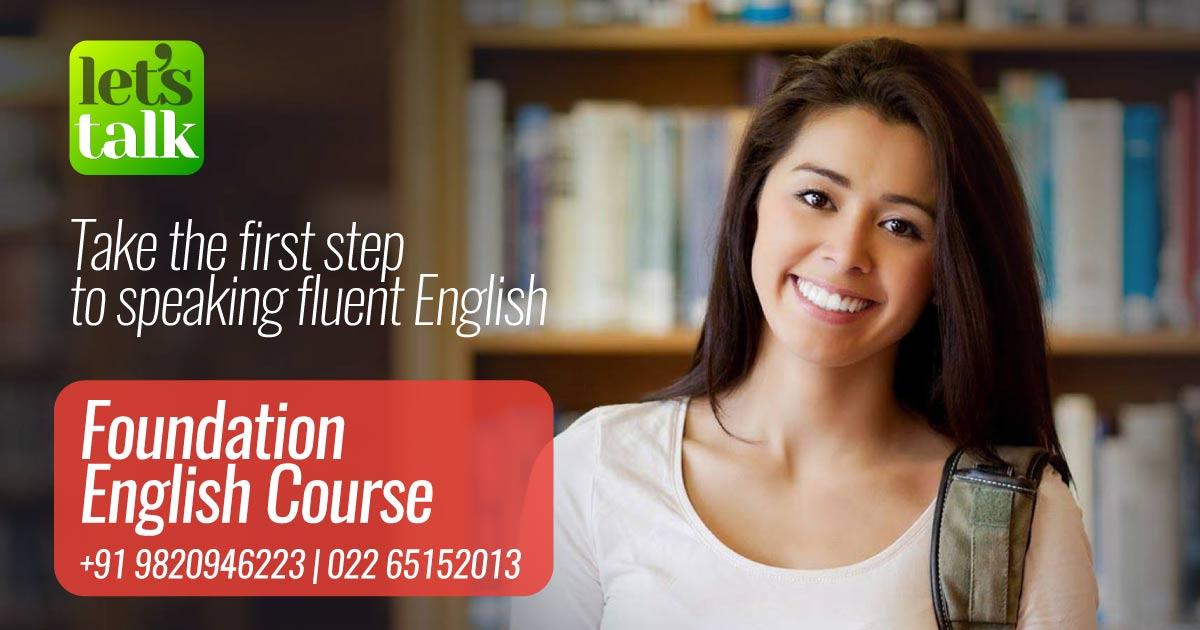 Foundation English speaking course in Mumbai  Thane
