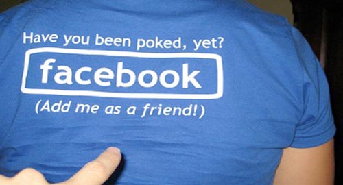 Facebook Poke Shirt