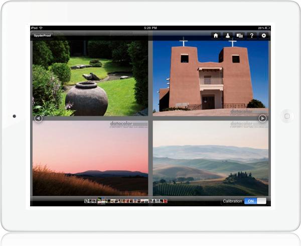 SpyderGallery photo gallery viewer for iPad
