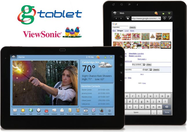 gTablet by ViewSonic