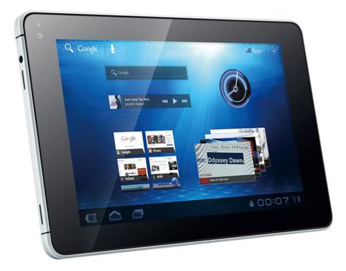 7 inch Honeycomb 3.2 MediaPad tablet