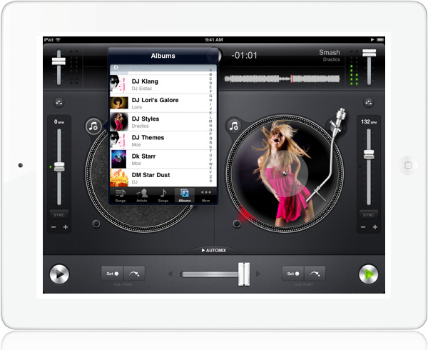 djay for iPad