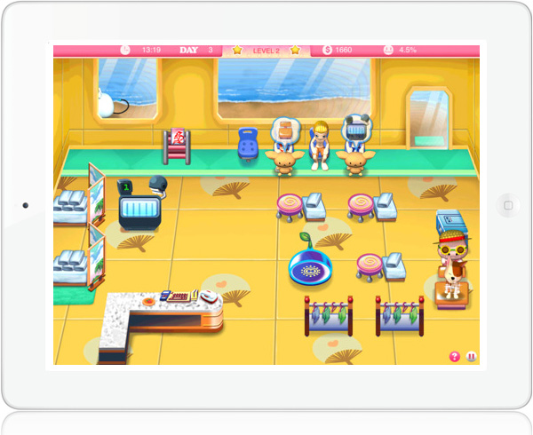 Pretty Pet Salon Summer HD game for iOS