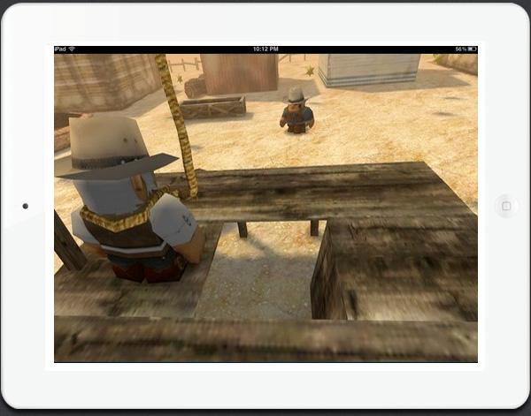 New iPad game Cowboy Guns HD