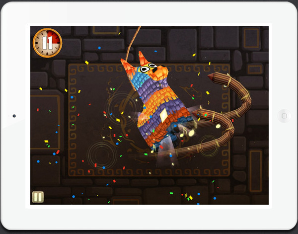 New HD iPad game Fruit Ninja Puss in Boots