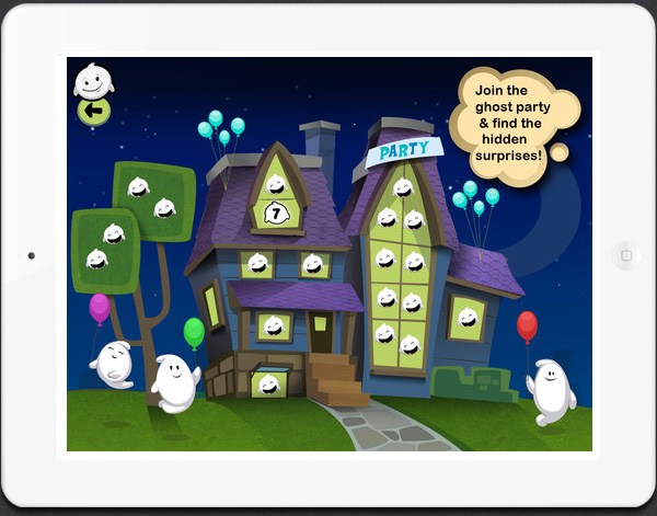 Giggle Ghosts new iPad game for kids